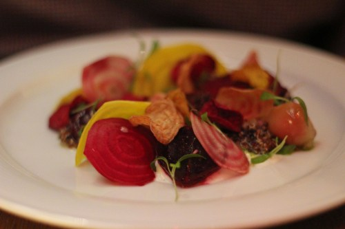 Beetroot at DB Bistro Moderne, New York