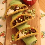 Slow cooked Black Bean Tacos