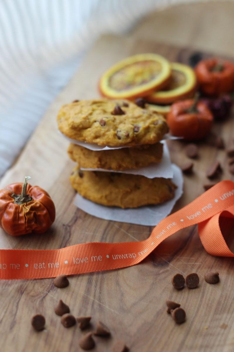 4. Pumpkin Cookie