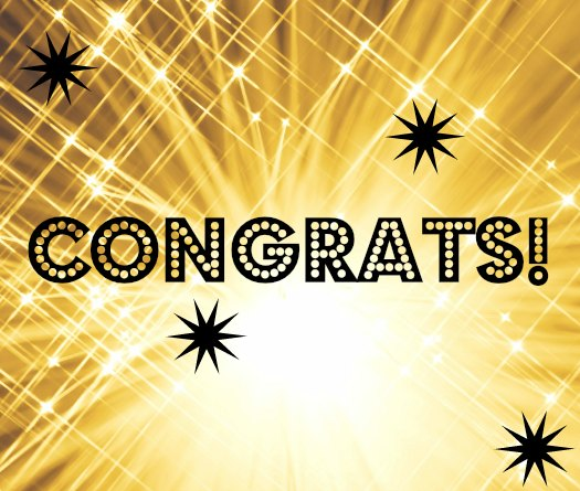 Congratulations – the winner is…
