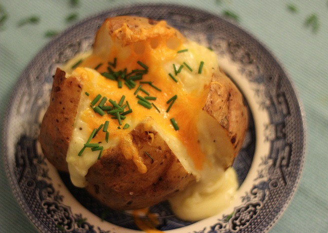 The Ultimate Baked Potato with Cheese