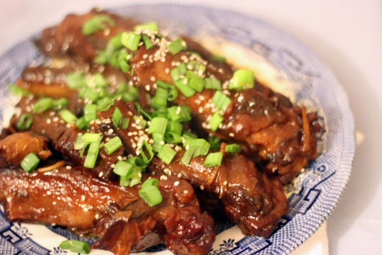 Delicious Chinese style spare ribs