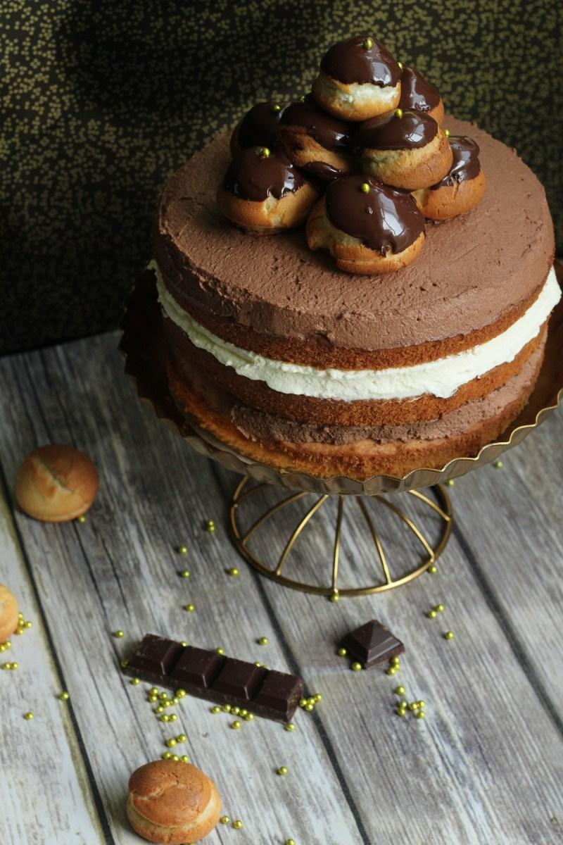 3. Profiterole Celebration Cake