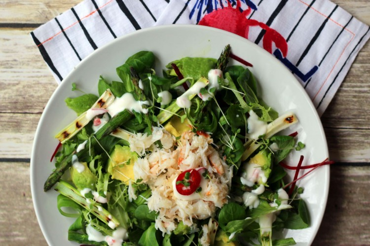 Crab and Avocado Salad 8