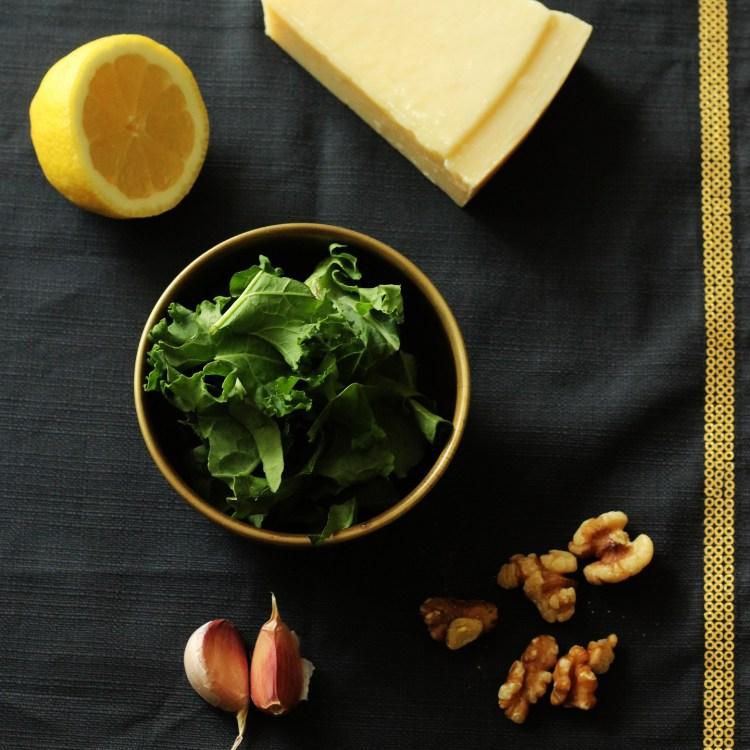 Kale and Walnut Pesto Recipe
