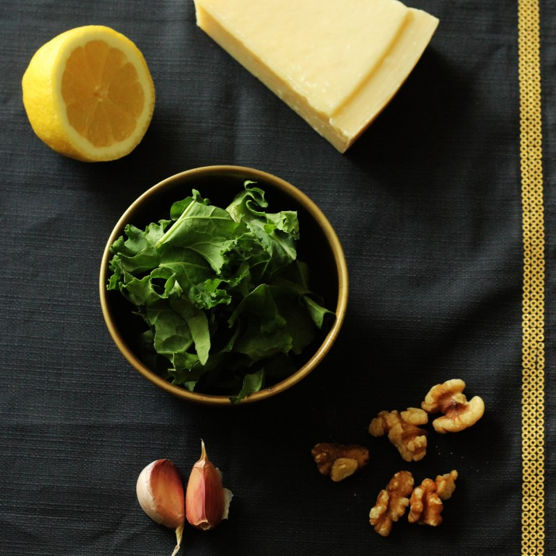 Kale and Walnut Pesto Recipe