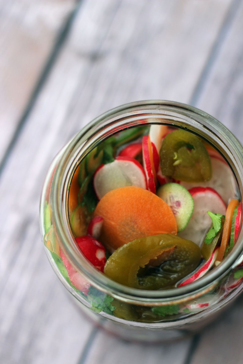 Hot Mexican Pickles from Supper in the Suburbs