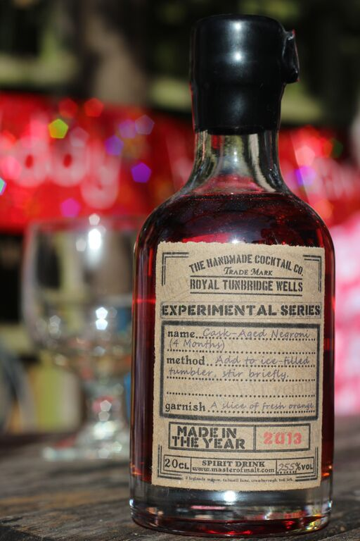 Cask Aged Negroni (4 Months)