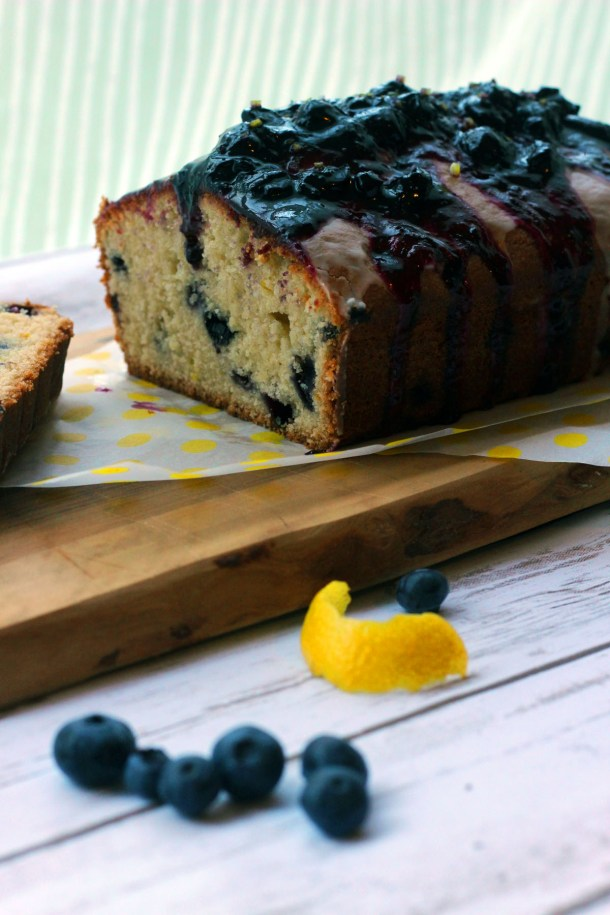 My Signature Madeira Cake with Lemon and Blueberry inspired by the Great British Bake Off