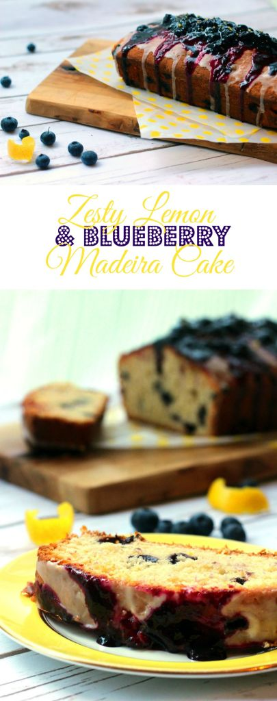 Zesty Lemon and Blueberry Madeira Loaf Cake from Supper in the Suburbs Pin