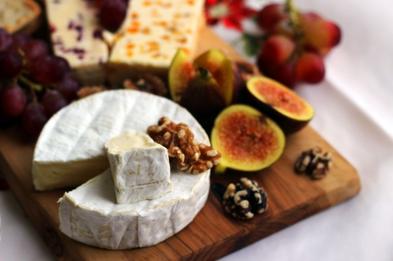 A Christmas Cheese board should always include a soft cheese, french cheeses work particularly well find out more at Supper in the Suburbs