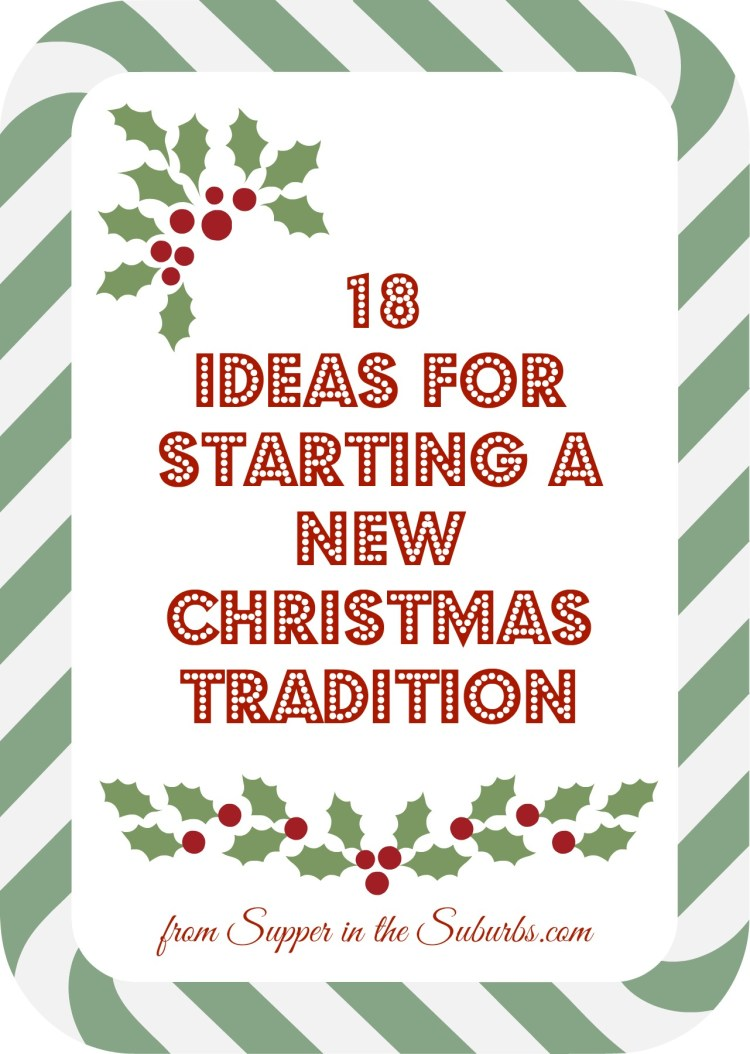 Start new Christmas Traditions this year with my long list of festive ideas from making your own advent calendar, festive movie nights and more!