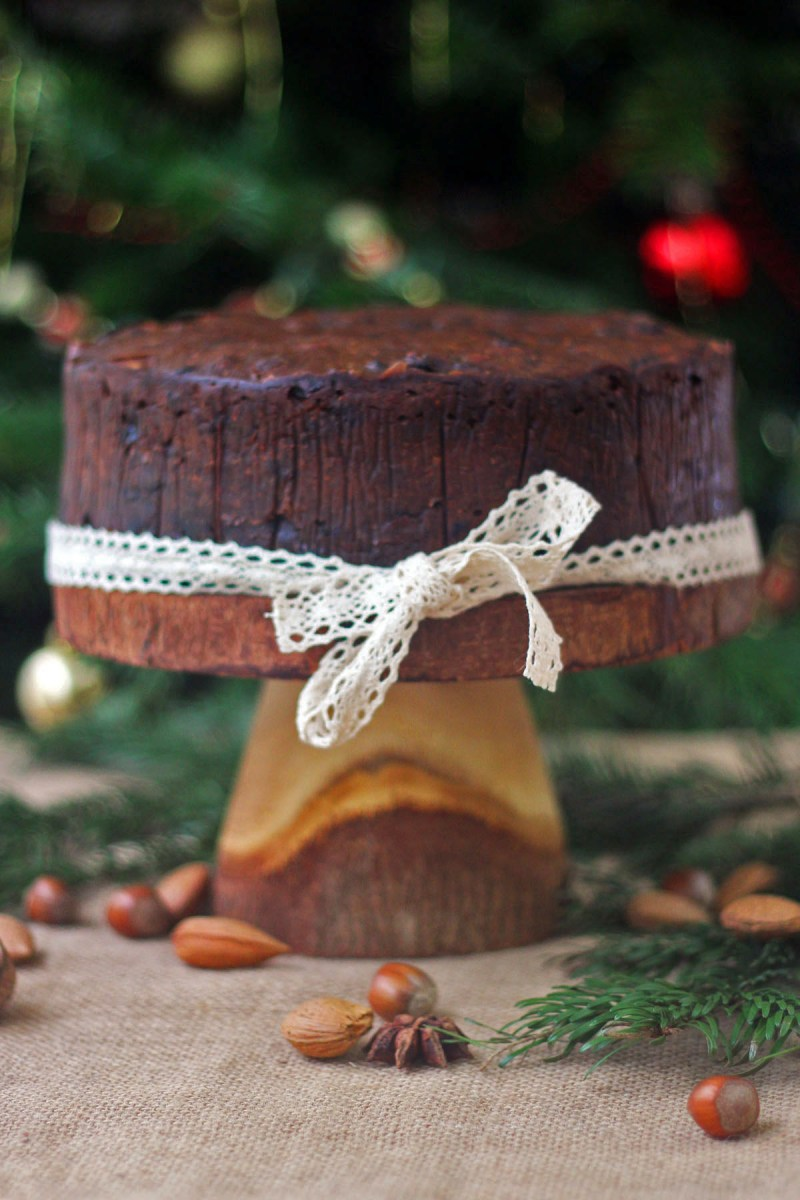 This Fig and Walnut Cake from Supper in the Suburbs is a wonderful alrernative to the traditional English fruitcake