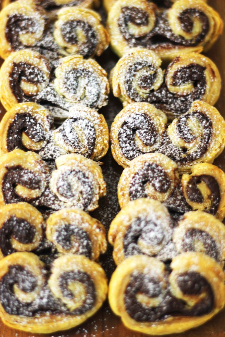 Find out the secret to making coffee shop style Nutella Palmiers in the comfort of your own home pour yourself a coffee and read the recipe at Supper in the Suburbs