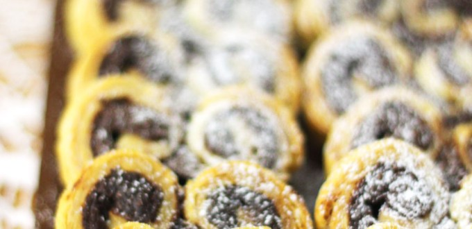 Valentines Day is just around the corner treat your special someone to freshly baked Nutella Palmiers on the 14th of Feb