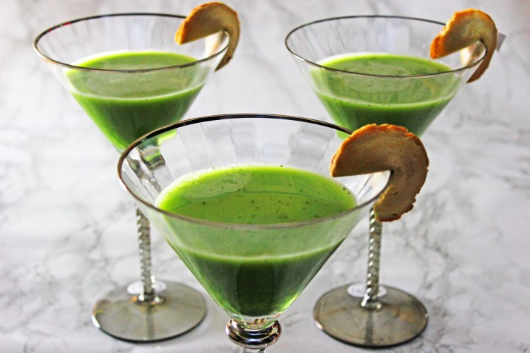 Matcha Martinis are a fun and sophisticated cocktail to keep your perky