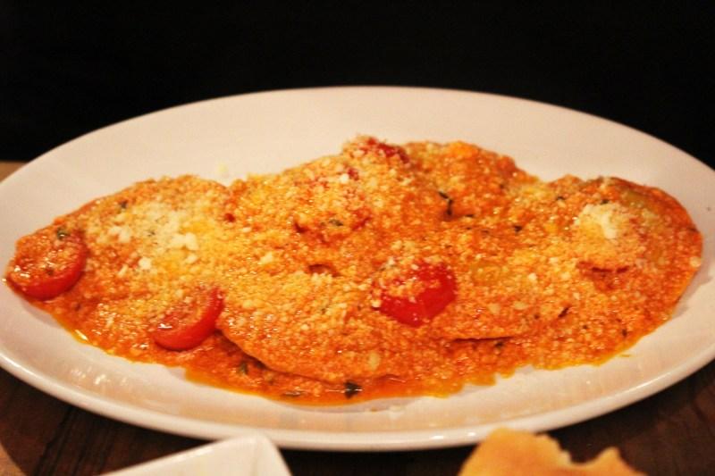 Roasted Aubergine Ravioli from Pasta Remoli Finsbury Park