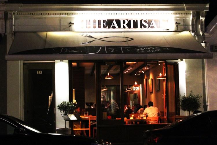 Artisan Bistro in Chelsea London a wonderful Mediterranean restaurant in a classy London neighbourhood.