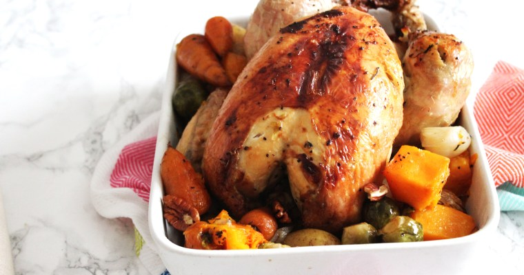 Herby Roast Chicken