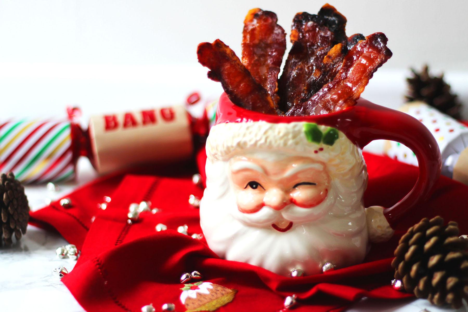 Cinnamon Candied Bacon