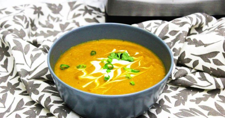 Sweet Potato Chipotle Soup