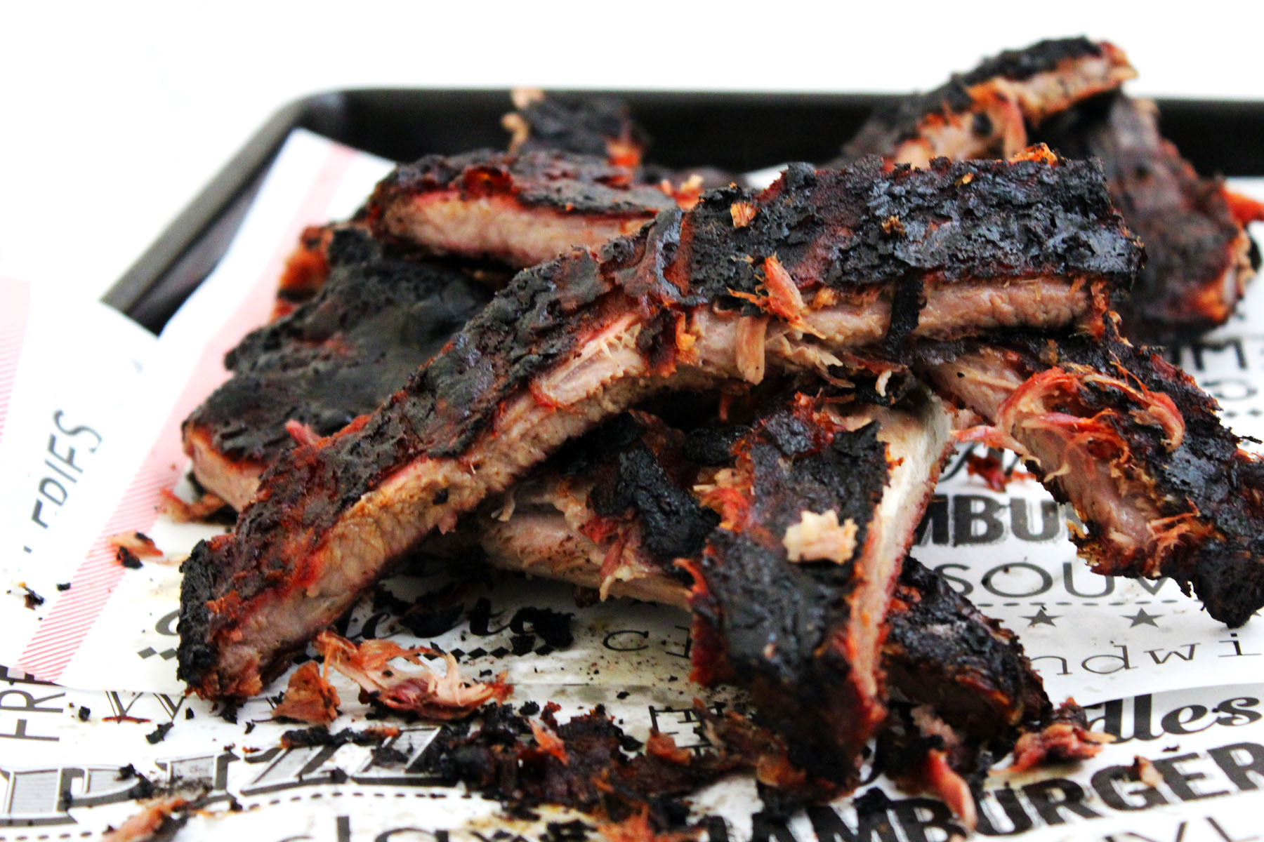Smoked Barbecue Ribs Memphis Style Supper In The Suburbs