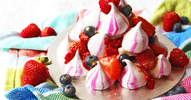 Eton Mess Stack with BerryWorld and the Meringue Girls