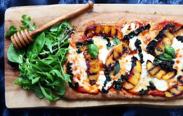 Fruit and cheese is a winning combo so it's no surprise this Kale and Nectarine Pizza is a real crowd pleaser! Get the recipe at Supper in the Suburbs.