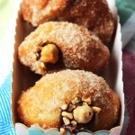 Everybody will love these Nutella Doughnuts. Stuffed which your favourite chocolate and hazelnut spread these deep fried doughnuts are a real treat! Get the recipe at Supper in the Suburbs!