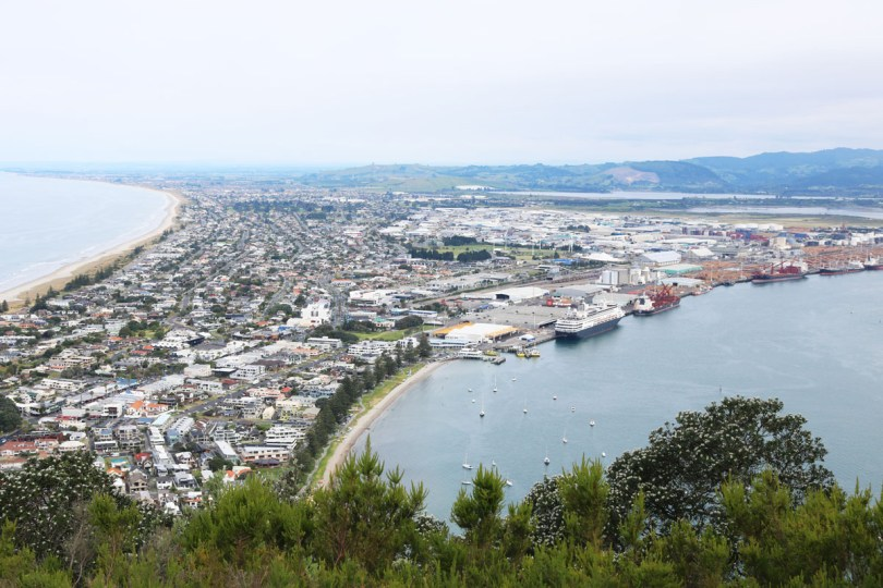 Climb to the top of the Mount for amazing views across the bay of plenty