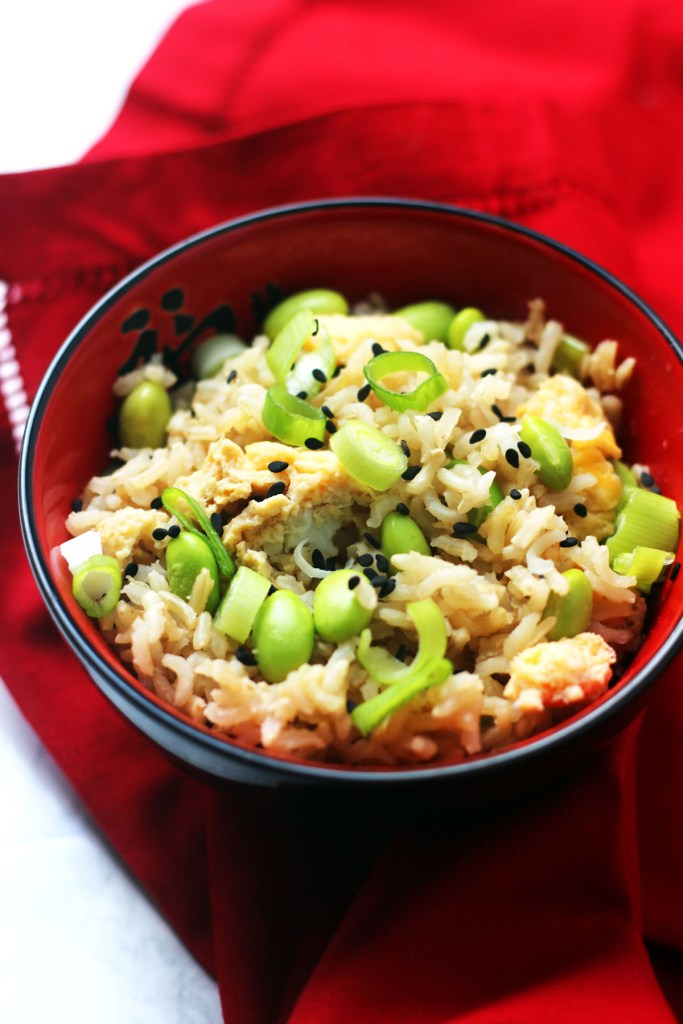 Egg fried rice is a quick and easy dish that can be served up as part of a Chinese feast or eaten on its own. Get the recipe in time for Chinese New Year at Supper in the Suburbs!