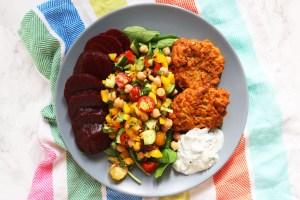 Indian Chickpea Salad