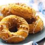 Baked Pumpkin Spiced Doughnuts