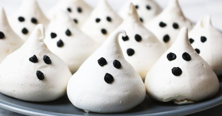 Coconut Meringue Ghosts