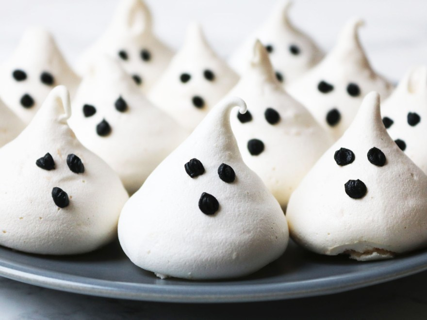 Coconut Meringue Ghosts