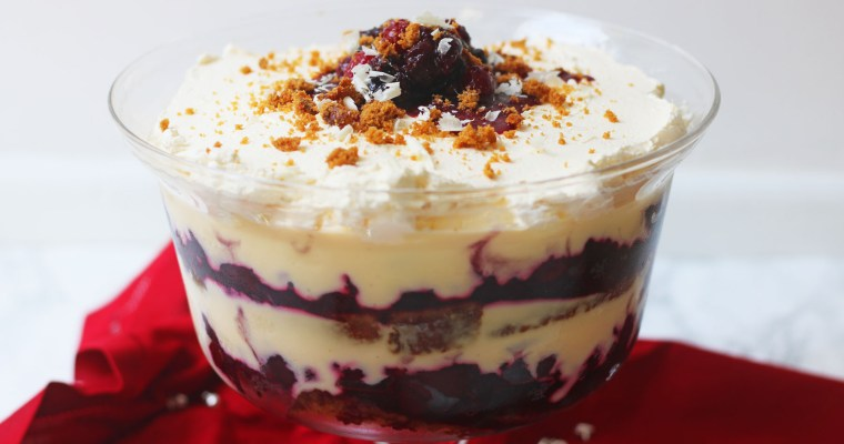 Winter Berry Trifle