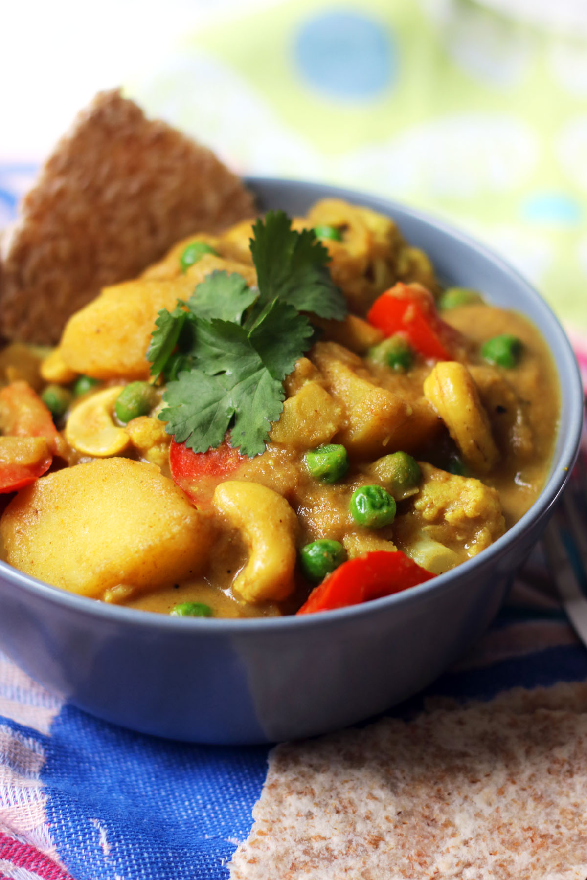 Vegan Cauliflower and Cashew Nut Korma
