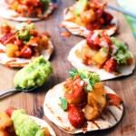 Vegan Potato and Chorizo Tacos