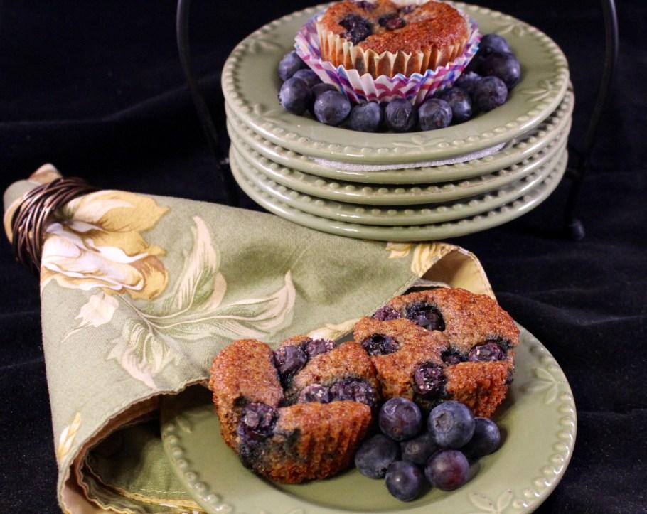 Blueberry Almond Muffins