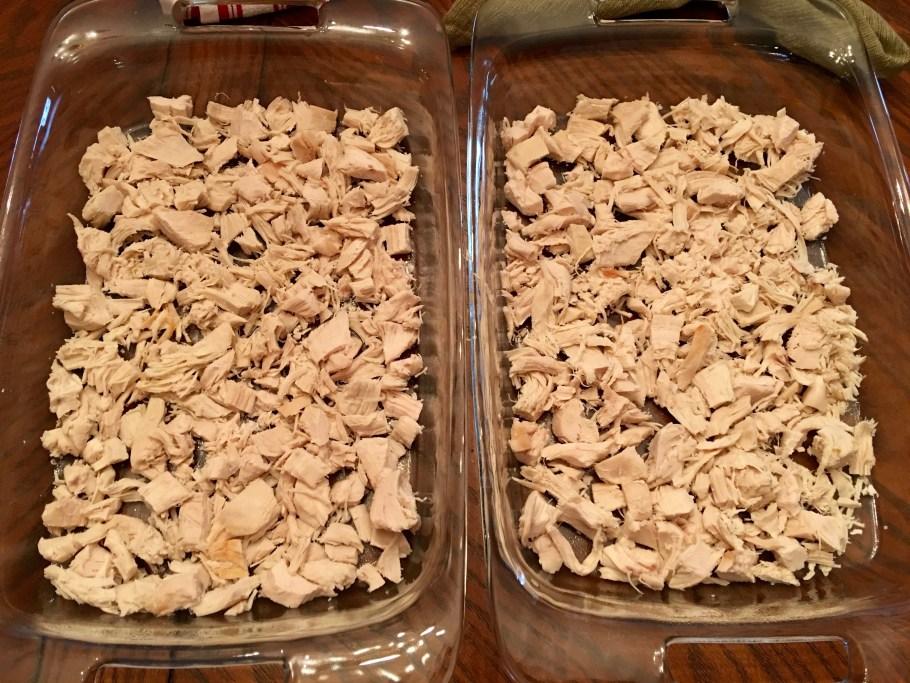 Chicken Cordon Bleu Casserole Layer the Chicken