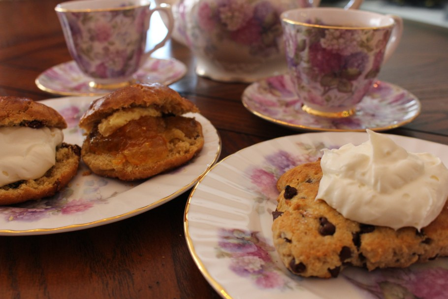Irish Buttermilk Scones Tea