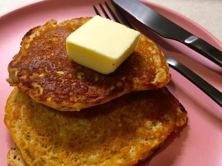 Whole Wheat Buttermilk Pancakes from toaster