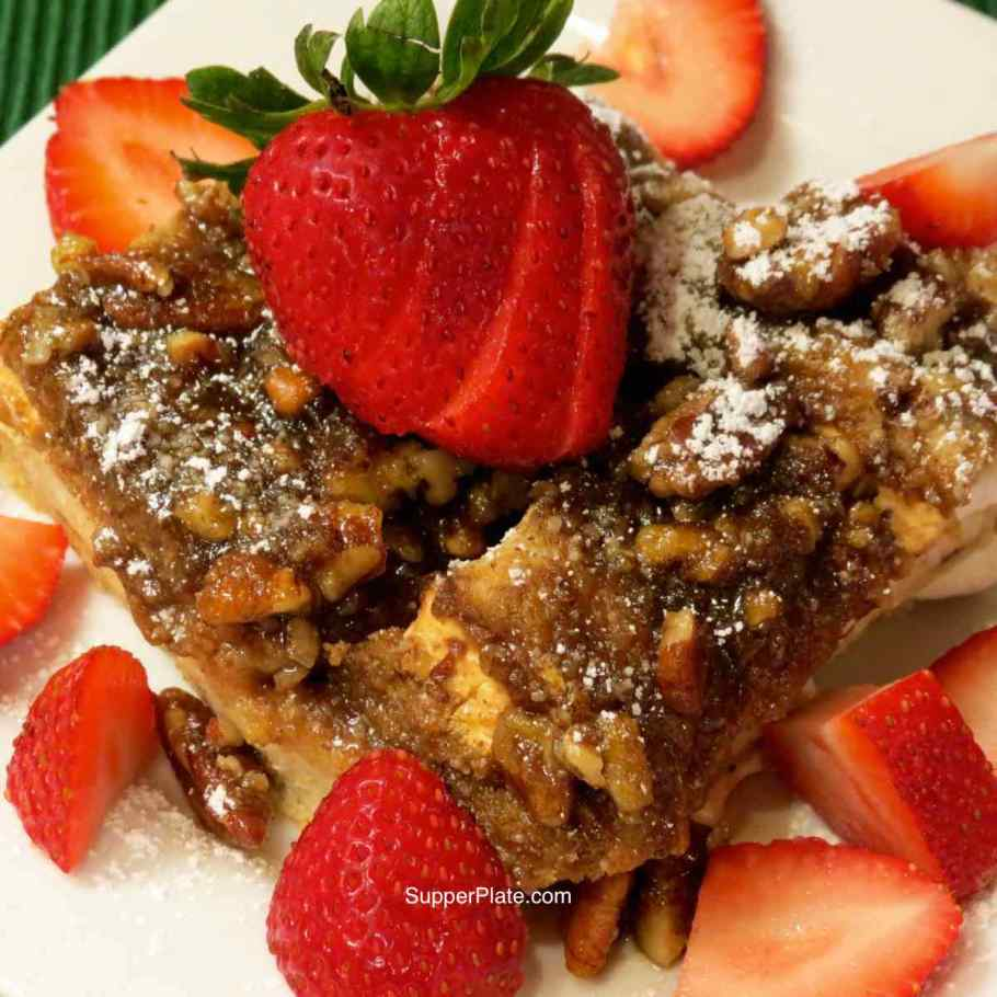 Cinnamon French Toast Bake Cover