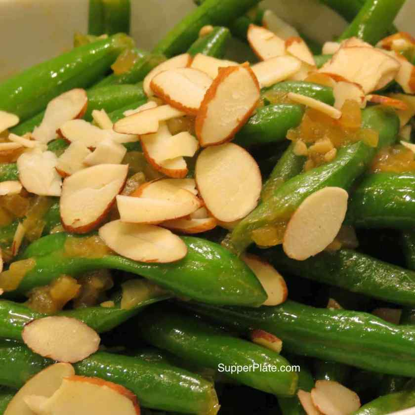 Green Beans Salad with Almonds
