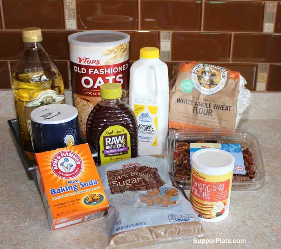 Ingredients for the Bread Without Yeast