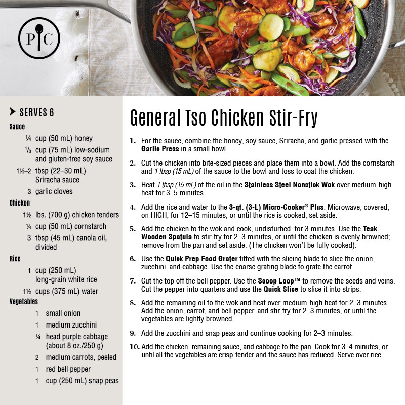 General Tso Chicken Stir-Fry recipe