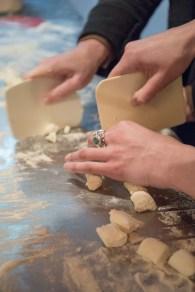 preparing ricotta gnoccis 02