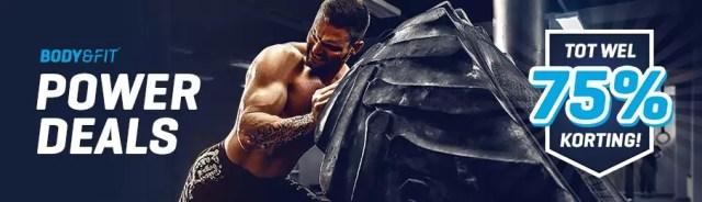 body en fitshop aanbiedingen