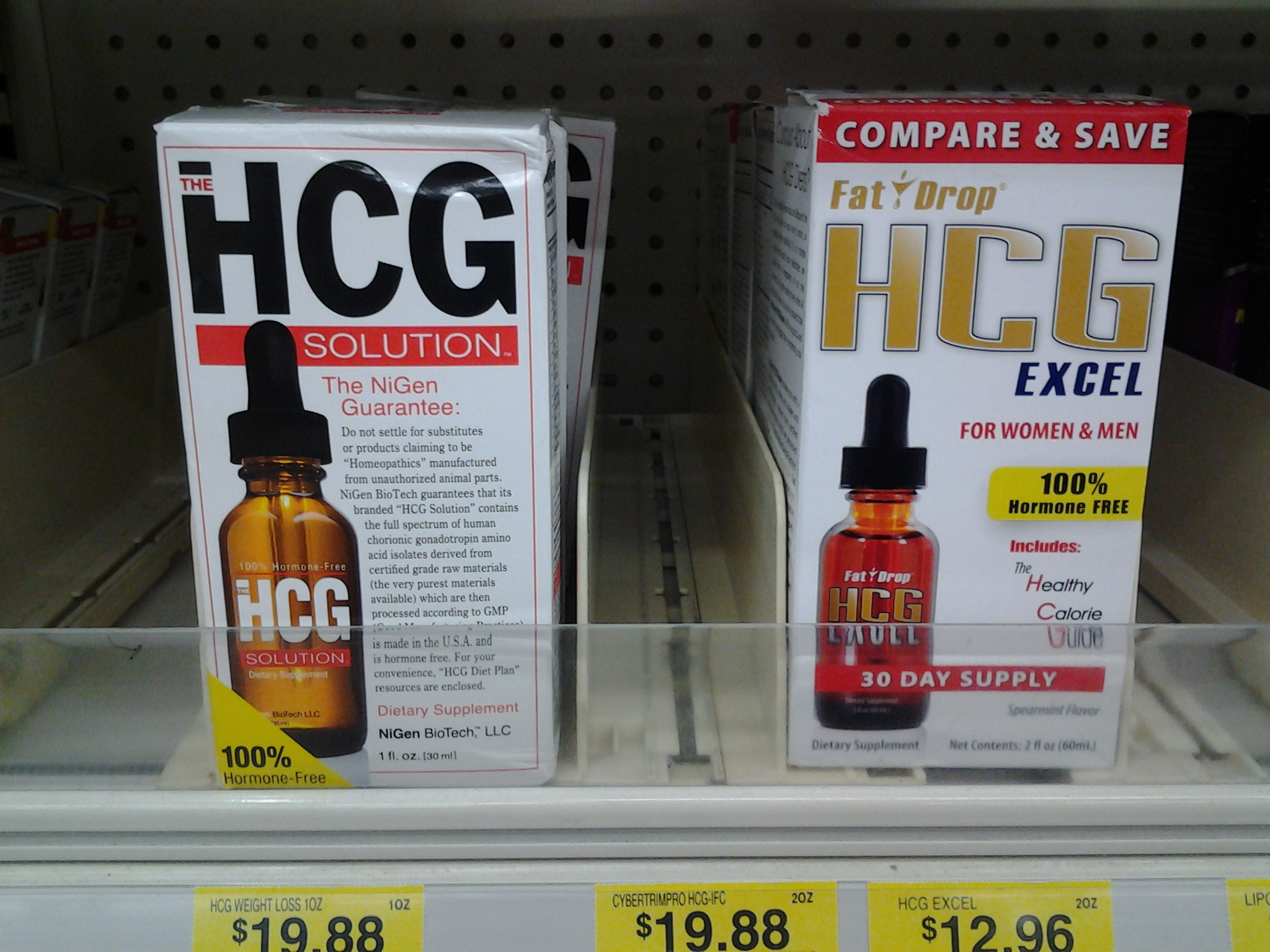 does hcg diet drops work