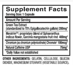 leptigen-origional-ingredients-label